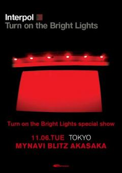 Interpol Turn on the Bright Lights special show