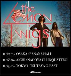 THE LEMON TWIGS JAPAN TOUR 2018