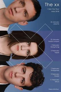 The xx Japan Tour 2018