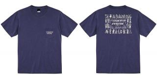 Pressure Sounds 100th Pocket T-Shirt [Navy]