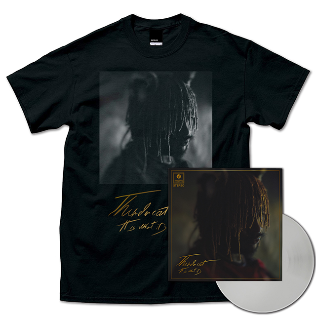 It Is What It Is (Clear Vinyl / Gatefold Sleeve) + T-Shirts (Black)