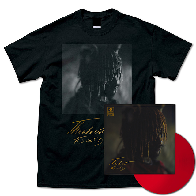 It Is What It Is (Red Vinyl) + T-Shirts (Black)