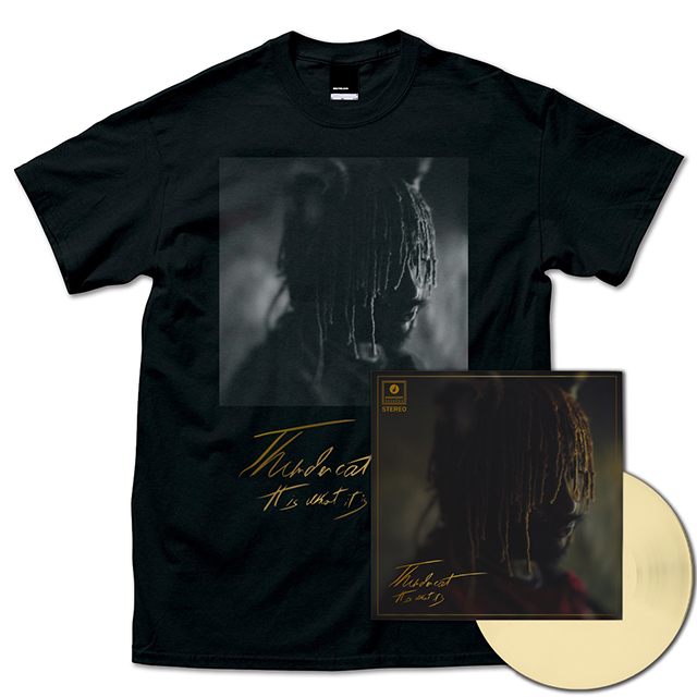 It Is What It Is (Cream Vinyl) + T-Shirts (Black)