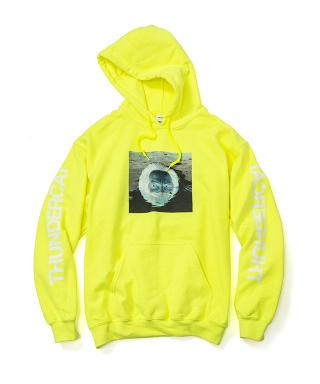 Thundercat - Drunk Reflect Hoodie (Safty Green) [受注生産商品]