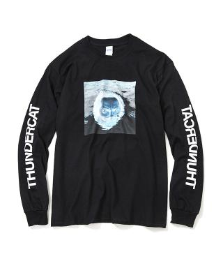 Thundercat - Drunk Reflect Long Sleeve (Black) [受注生産商品]