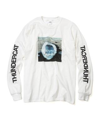 Thundercat - Drunk Reflect Long Sleeve (White) [受注生産商品]