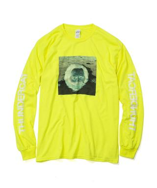 Thundercat - Drunk Reflect Long Sleeve (Safty Green) [受注生産商品]
