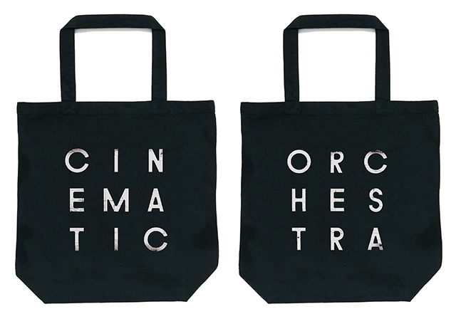 The Cinematic Orchestra - To Believe Tote Bag (Black)