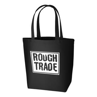 Rough Trade Logo Tote Bag (Black) [受注生産商品]