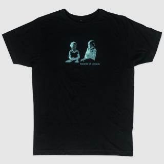 BOC Green Two Boys Logo T-Shirt (Black)