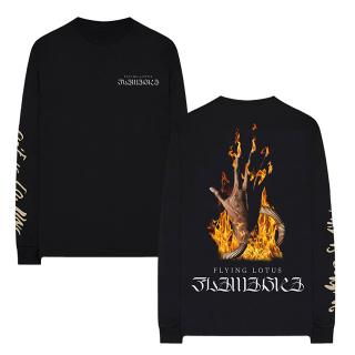 Flying Lotus - Flamagra Long Sleeve Tee [受注生産商品]