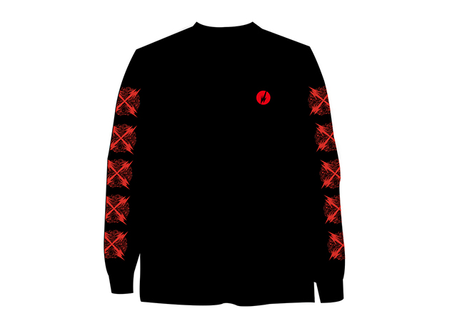 Brainfeeder X Logo Long Sleeve Tee