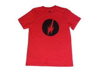 Brainfeeder Black Logo Tee (Red)