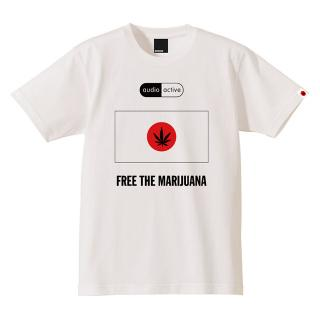 Audio Active - Free The Marijuana T-Shirt