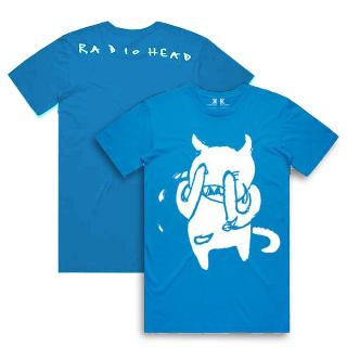 Radiohead Lamentations Of The Minotaur Azur T-shirt