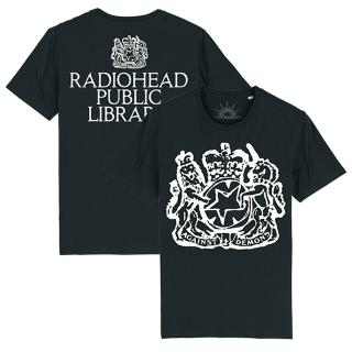 Radiohead The Librarian Black T-Shirt