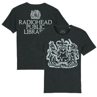 Radiohead The Librarian Grey T-Shirt