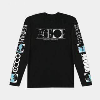 "Oneohtrix Point Never - ""Age Of"" Long Sleeve Tee (Black)"