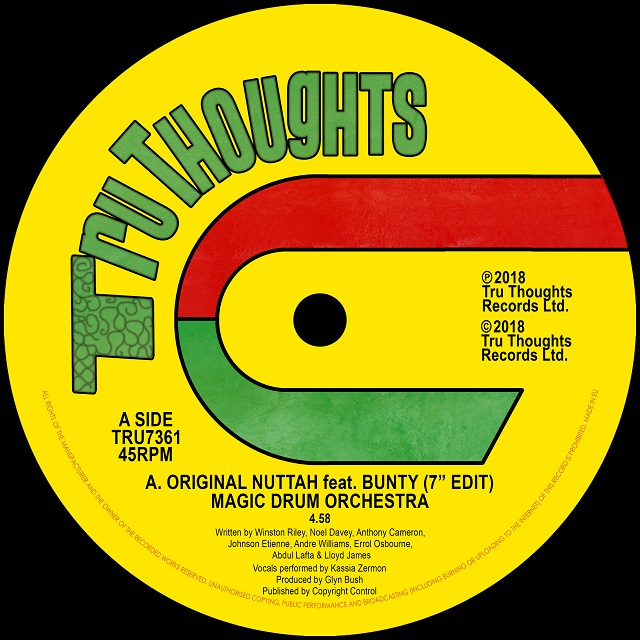 "Original Nuttah feat. Bunty (7"" Edit) / Dread Nourishment"