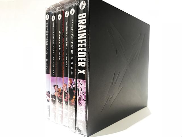 Brainfeeder X 6CD BOX