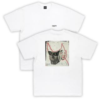 Oneohtrix Point Never - OPN x Harmony Korine Sci-fi Tee (White)