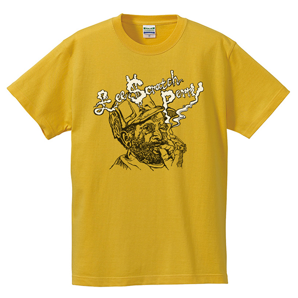 Lee 'Scratch' Perry Smoke T-Shirts - Yellow (80th Anniversary)