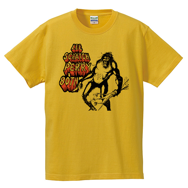 Lee 'Scratch' Perry 80th Anniversary Sperape T-Shirts - Yellow